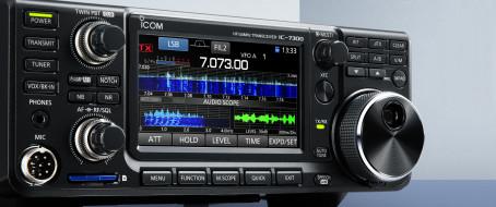 OhraPaja: Kansanradio IC-7300 TX avaus