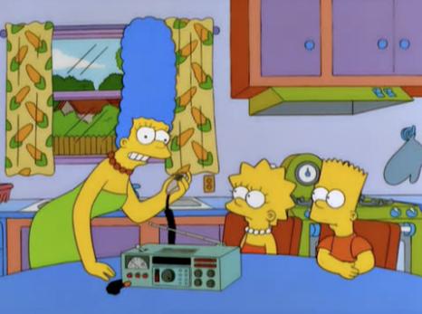 Simpsonit ja radioamatööritoiminta