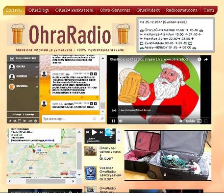 OhraRadion nettisivut avautuivat!