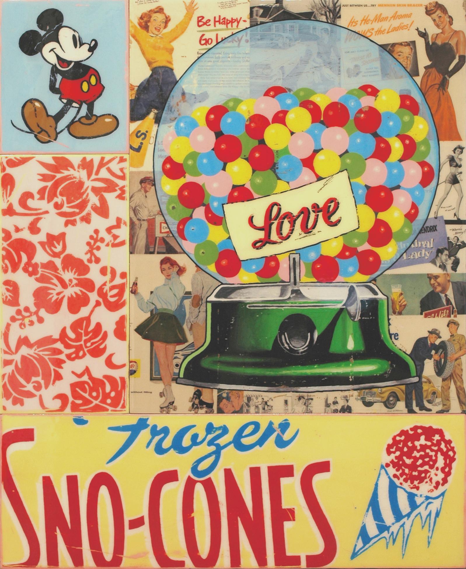 Bubble Gum 110x90cm