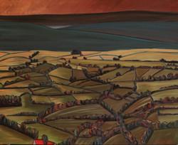 8-Le Toit Rouge-100 x 81cm -horizontal (Large)