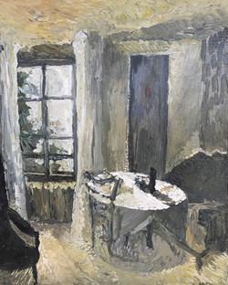 la table du salon 41 x 33 cm