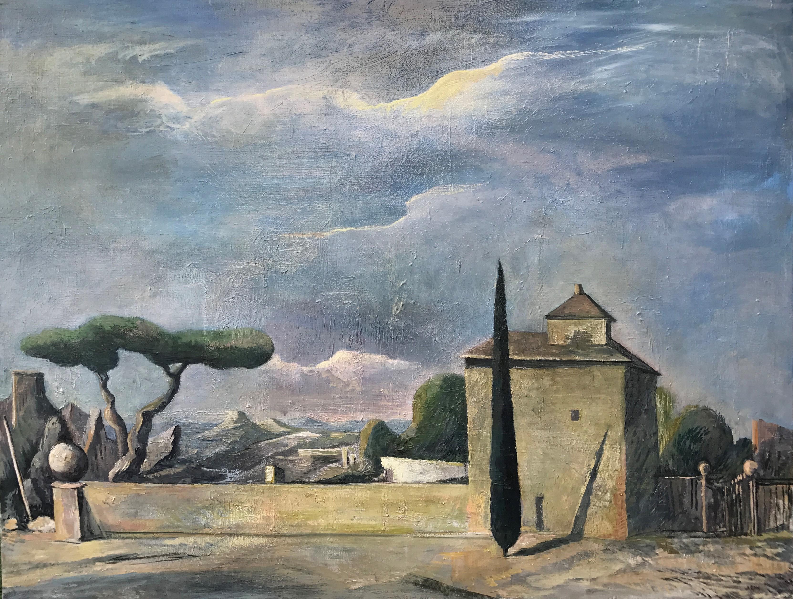 paysage italien 146 x 114 cm