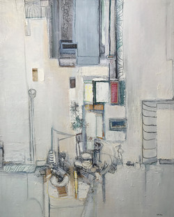 l atelier blanc 130 x 162