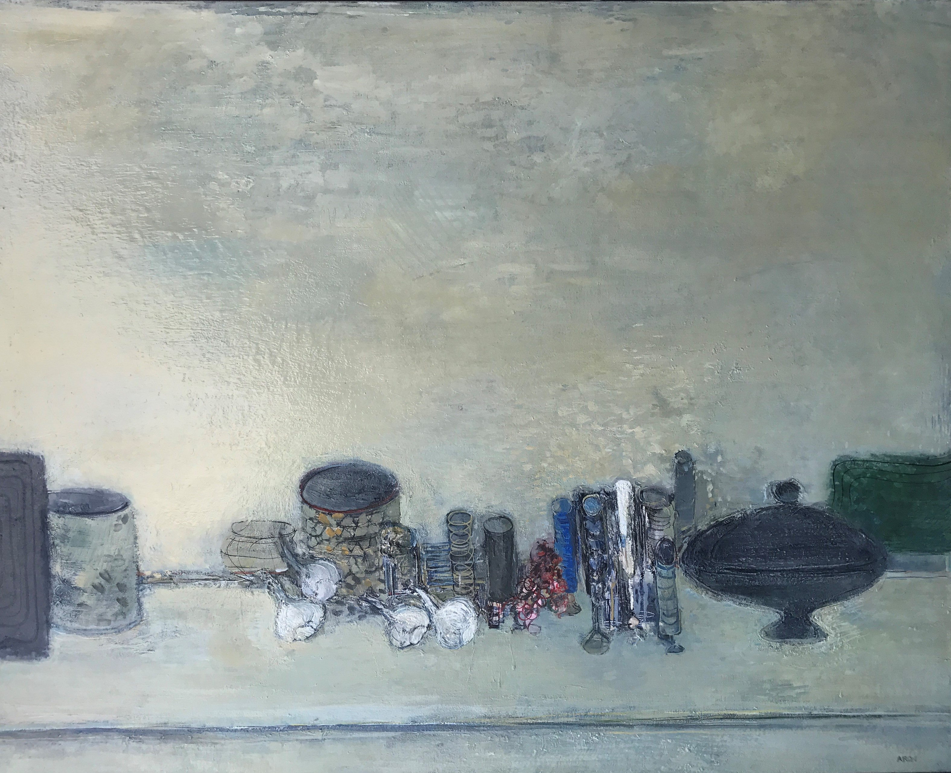grande nature morte 162 x 130 cm