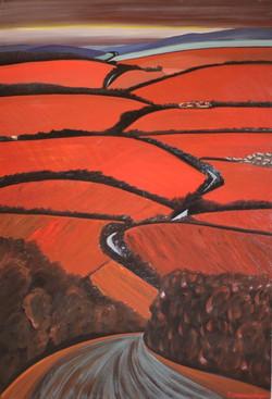 4-Vignes Rouges-130 x 89 cm-vertical (Large)