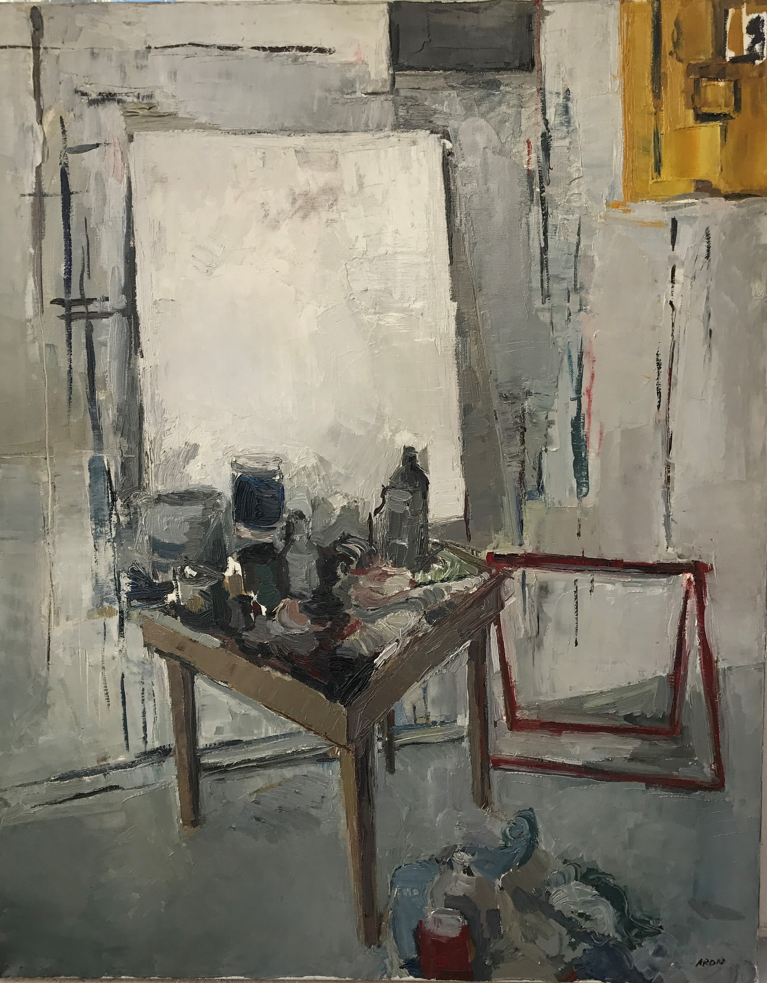 la table d atelier 81 x 65 cm