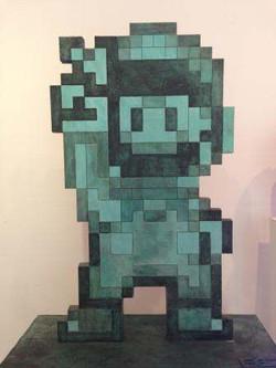 Super Mario - Bronze - 85x70x30cm