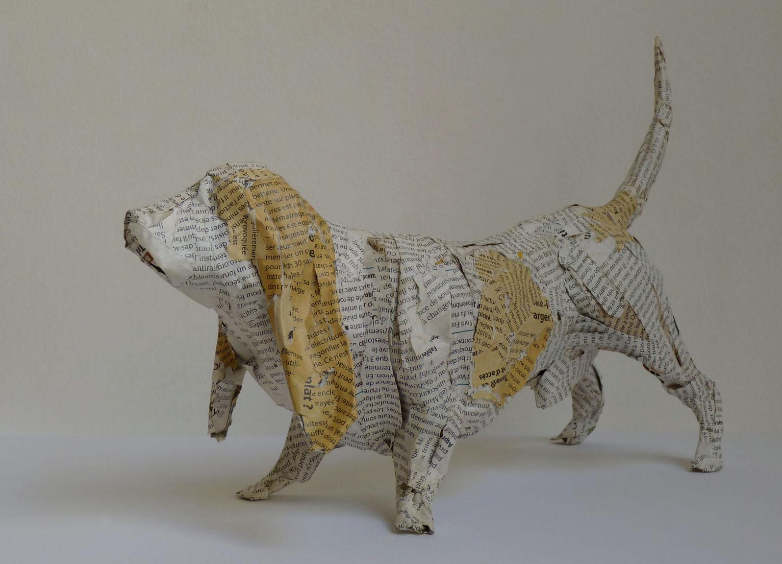 Copie de Petit chien de chassse Basset Hound p.gauche 34