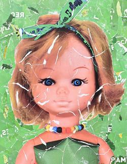 Summer Doll 2 -146x114 cm