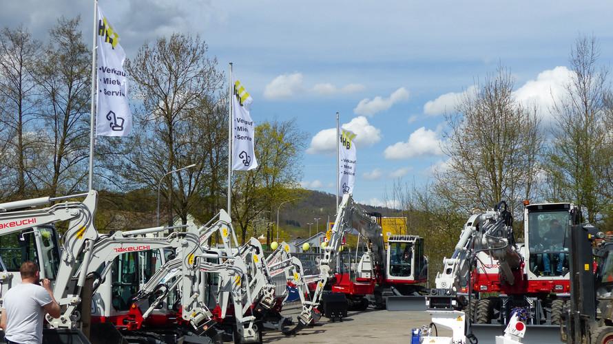 Maschinenausstellung zum 25 jährigen Jubiläum 2018