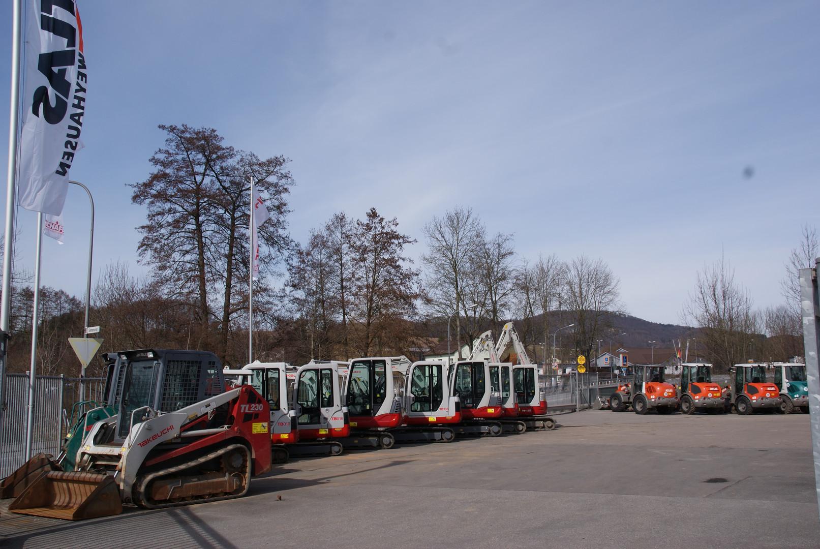 Maschinenpark 2013