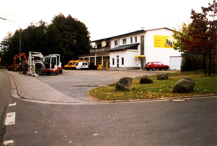 Betriebsgelände in Fürth um die Jahrtausendwende