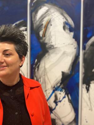 """""""Dialogo silente"""" a Pergine Valsugana. Conversazione con l'artista Annalisa Filippi"""