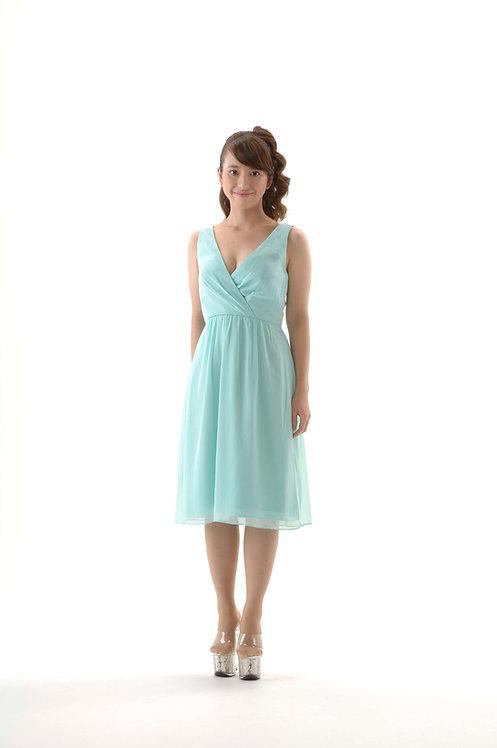 【レンタル】ショートドレス アイスグリーン