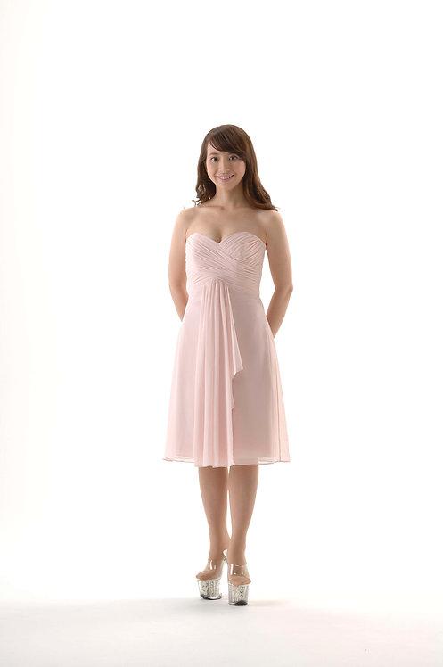 ♪【即納】カクテルドレス ピンク