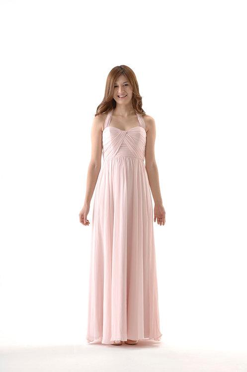 ★【即納】2Wayコンバーチブルドレス ピンク
