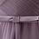 Thumbnail: S021(セミオーダー)小リボンロングドレス チュール 132色