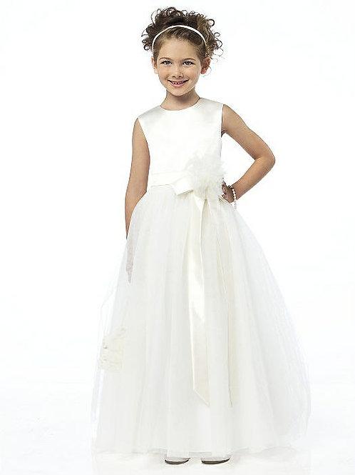 デザイナーズドレス フラワーガールドレス FL4030 2色