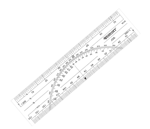 Protractor Scale