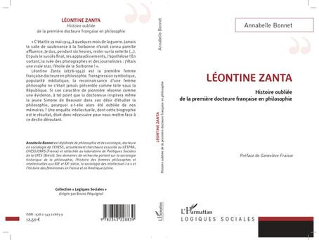 Léontine Zanta, história esquecida da primeira francesa doutora em filosofia: