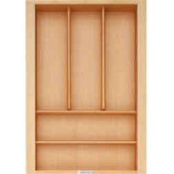 A-01-Solid Wooden Cutlery Divider