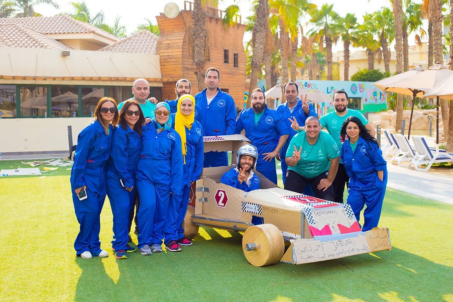 360 Experiential Solutions | Team Building in Egypt