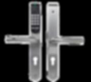 E100, escutcheon lock, without comhub, 4