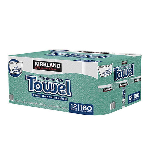 Kirkland Signature Premium Big Roll Paper Towels 12-roll