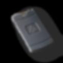 Impro Rectangular keyring tag, Mifare 13