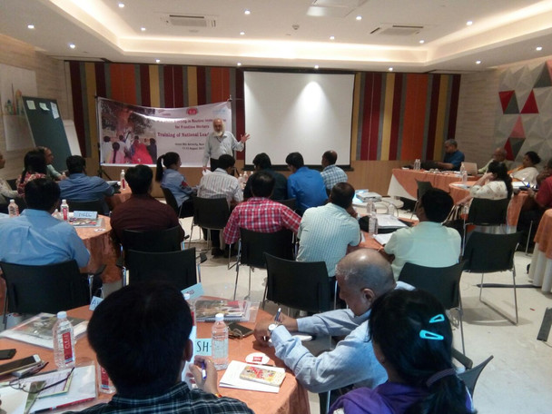 TRAINING OF NATIONAL LEAD TRAINERS