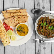 Bhindi Masala+ HomestyleDal+ Roti.jpg