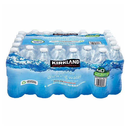 Kirkland Signature Purified Drinking Water, 16.9 Ounce, 40count