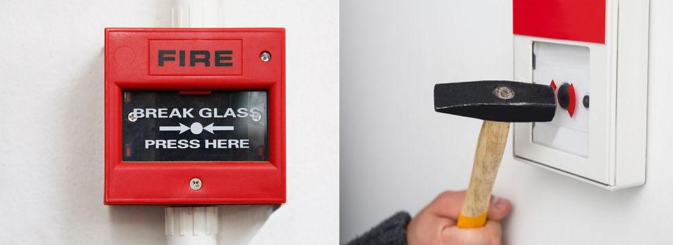 Break Glass Emergency Door Release