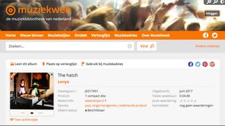 Album of the week, Muziekweb