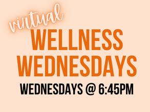 Virtual Wellness Wednesdays
