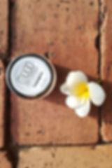 bougie en cire de soja à la citronnelle