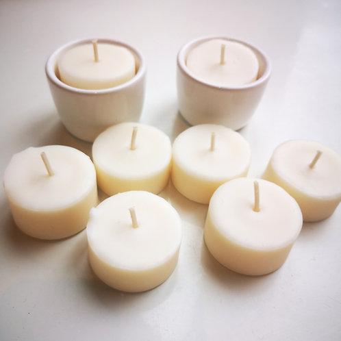 Kit bougies de table zéro déchet