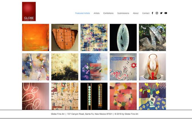 Globe Fine Art Website