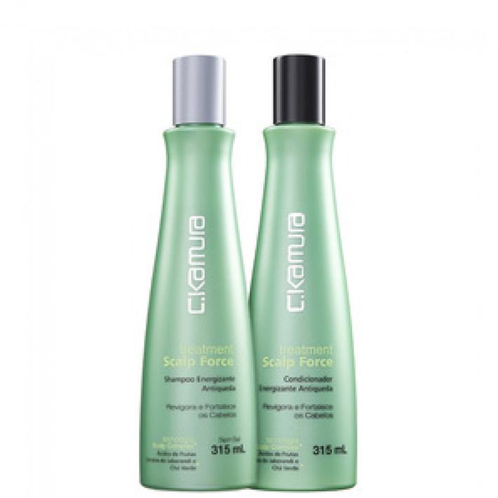 Shampoo e Condicionador C.Kamura Treatment Scalp Force