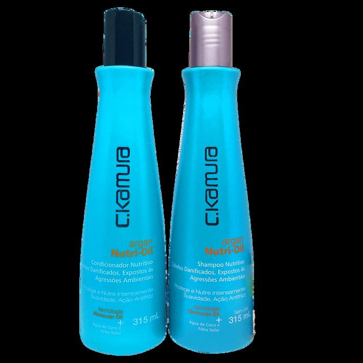Shampoo e Condicionador C.Kamura Argan Nutri-Oil