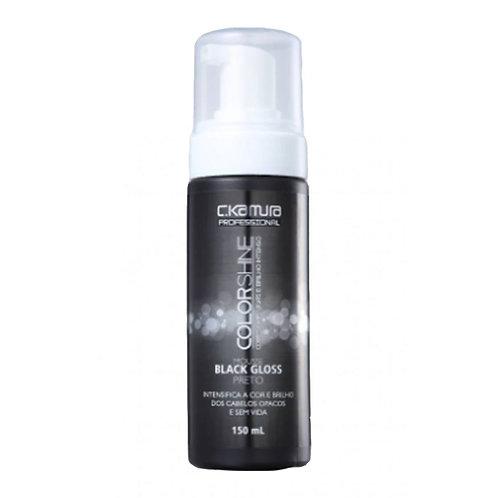 Mousse Tonalizante C.Kamura Color Shine Black Gloss