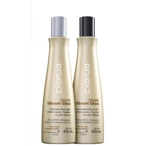Shampoo e Condicionador C.Kamura Blonde Vibrant Gloss