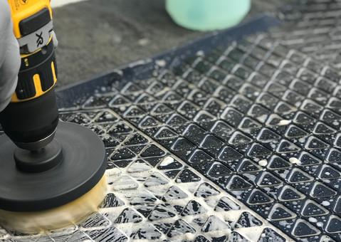 Innenraumreinigung - Nassreinigung der Fußmatten