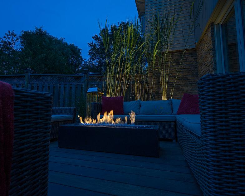CUSTOM design yard deck
