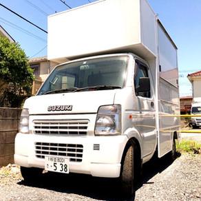 軽トラックベースのキッチンカ―。車の規格や構造を正しく理解しよう。