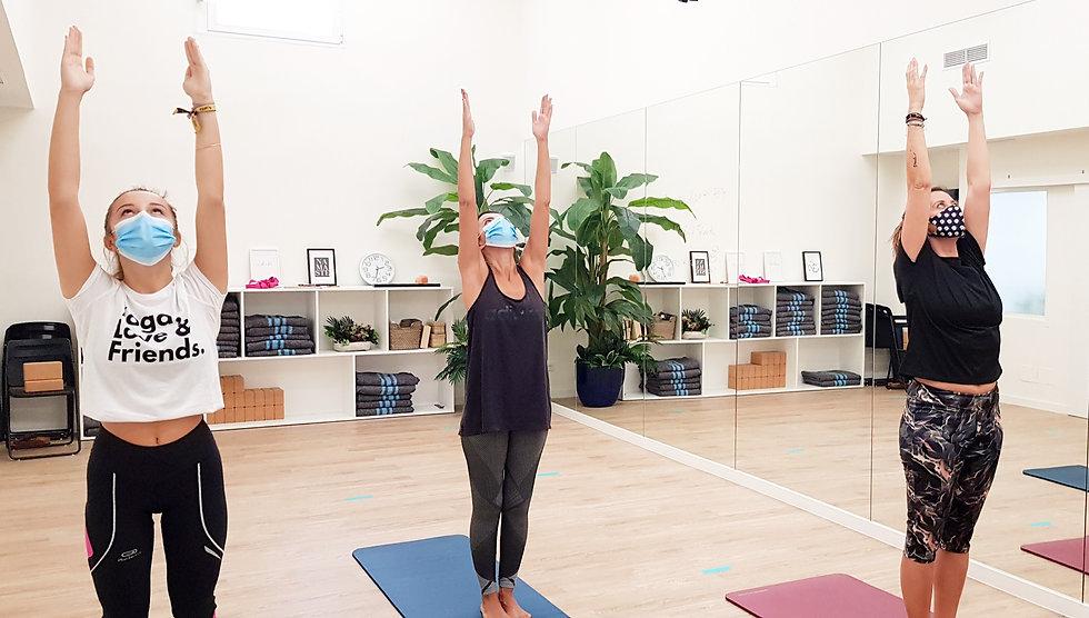 clase de yoga madrid
