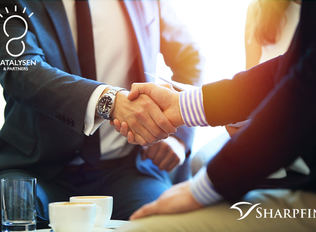 Katalysen strengthens collaboration with Fintech scale-up Sharpfin