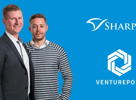 Sharpfin joins VenturePort