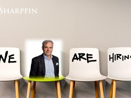 Peter Bäck joins the Sharpfin Team